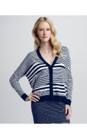 Milly Mirage Vneck Cardigan