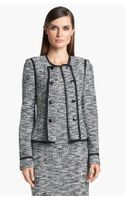 St. John Collection Fleck Tweed Knit Jacket