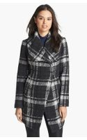 Dawn Levy Amelia Plaid Bouclé Coat