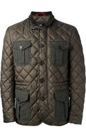 Fay Quilted Jacket - Lyst