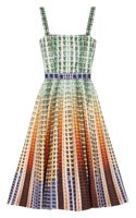 Mary Katrantzou Suddenly Printed Cottonpiqué Dress