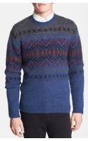 Topman Brushed Knit Crewneck Sweater