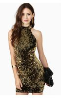 Nasty Gal Feel That Fire Sequin Dress - Lyst