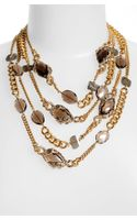 Alexis Bittar Elements Multistrand Station Necklace