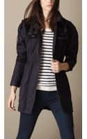 Burberry Lightweight Slim Fit Parka