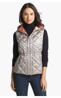 Bernardo Hooded Packable Goose Down Vest