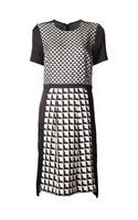 By Malene Birger Geometric Print Dress - Lyst