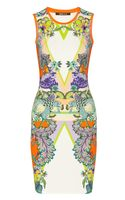 Roberto Cavalli Padma Printed Stretchjersey Dress