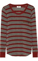 LNA Spencer Striped Fineknit Sweater - Lyst