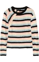 Sonia Rykiel Textured Cotton Blend Sweater
