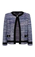 St. John Boucle Tweed Jacket