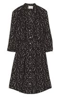 Band Of Outsiders Printed Silk Crepe Dress