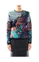 Mary Katrantzou Fauwinding Print Crew Neck Sweater
