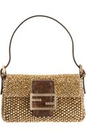 Fendi Mini Beaded Baguette Bag - Lyst