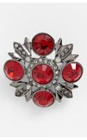 Givenchy Crystal Brooch