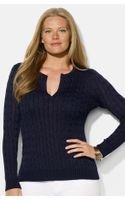 Lauren by Ralph Lauren Cable Knit Sweater
