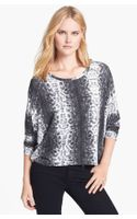 Michael by Michael Kors Studded Dolman Sleeve Top - Lyst