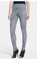 McQ by Alexander McQueen Print Houndstooth Leggings