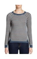 Christopher Fischer Striped Cashmere Sweater