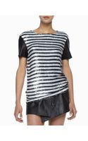 Rachel Zoe Nichols Striped Sequined Top - Lyst