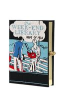 Olympia Le-Tan The Weekend Library Book Clutch