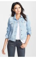 Paige Vermont Distressed Denim Jacket