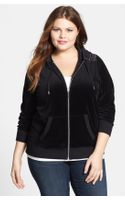 Michael by Michael Kors Embellished Velour Jacket