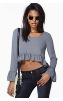 Nasty Gal Adora Crop Top - Lyst