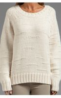 By Malene Birger Autumn Alpaca Purlisha Sweater in Cream - Lyst