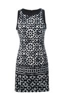 Michael by Michael Kors Sleeveless Geometric Print Dress - Lyst