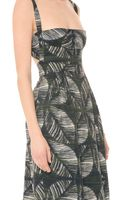 DSquared2 Palms Printed Dress - Lyst