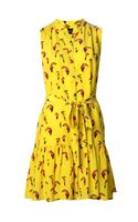 Saloni Toucan Print Dress - Lyst
