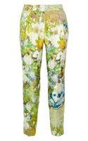 By Malene Birger Nallie Floralprint Silktwill Straightleg Pants - Lyst