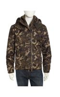 Superdry Camoprint Tech Windcheater Jacket Army Camohazard Orange - Lyst