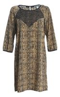 Maison Scotch Smock Dress - Lyst