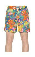 Ralph Lauren Blue Label Printed Nylon Swimming Shorts
