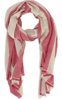 Isabel Marant Very Cashmere Striped Scarf - Lyst