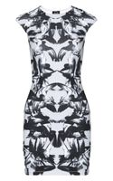 McQ by Alexander McQueen Printed Stretchcotton Dress