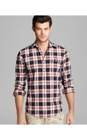 Gant By Michael Bastian Static Check Woven Sport Shirt Slim Fit