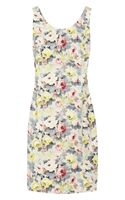 Miu Miu Printed Stretch Cotton Dress