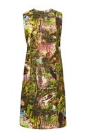 Carven Printed Cottoncrepe Shift Dress
