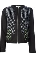 Opening Ceremony Floral Sequin Jacket