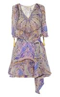 Emilio Pucci Printed Silkchiffon Mini Dress