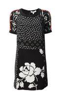 Elizabeth And James Beaded Floral Dress - Lyst