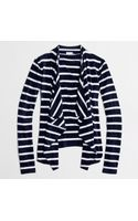 J.Crew Factory Always Cardigan in Stripe - Lyst