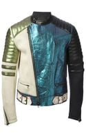 3.1 Phillip Lim Metallic Panelled Jacket - Lyst