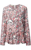 Stella McCartney Printed Top - Lyst