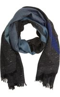 Roda Tweed Uk Flag Jacquard Scarf - Lyst