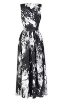 Preen Printed Crepe Viscose Crystal Vertigo Dress