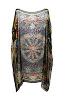 Dolce & Gabbana Sicilian Print Shift Dress - Lyst